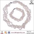 Fashion Costume Necklace and Bracelet Jewelry Set