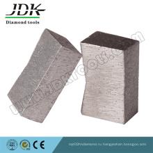 Форма алмазного сегмента к для гранита Вырезывания