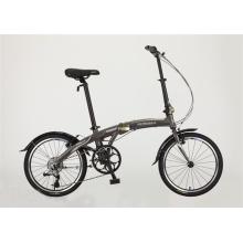 Bicicleta plegable de aluminio del marco 6speed de la venta caliente (FP-FDB-D010)