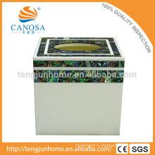 Коробка из натуральной ткани Abalone Shell Tissue для декоративного орнамента