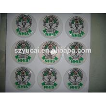 domed epoxy sticker