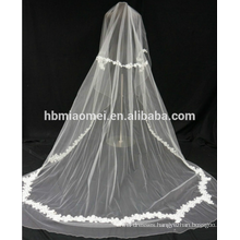 Lace fabric high quality flower trim lace veil wedding for bride