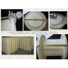 DIN250 tube plastic bobbin (manufactuer)