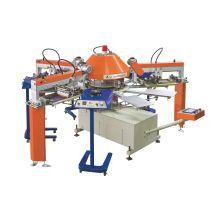 Preço de máquina de impressão de tela de seda rotativa de t-shirt automática Spg para venda