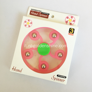 Mano Fiore Spinner Glow In The Dark