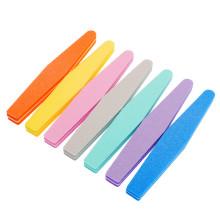 Professional OEM custom printed sanding sponge nail file