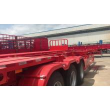 Skeleton Semi Trailer for 20ft 40ft Container With