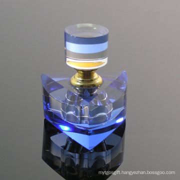 Blue Crystal Perfume Bottle for Office Room Ornament (JD-XSP-140)