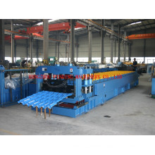 2015 new style high strength roof tile panel roll forming machine