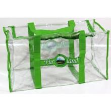 Transparent PVC Duffle Tote Bag