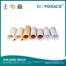 High Heat Resistant Cement Plant Dust Baghouse Fiberglass Filter Bag