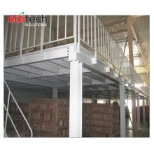 Professional Designed Mezzanine Floor Steel Platform for Industrial Warehouse Storage
