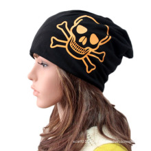 Мода череп печатные хлопок трикотажные зима теплая Спортивная шапка (YKY3132)