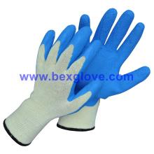 10 Gauge Polyester Liner, Latex Coating, Foam Finish Glove
