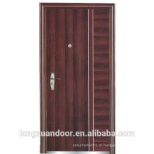 Porta de aço inoxidável usada para porta exterior