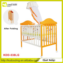 New en1888 luxury design travel system baby crib , baby swing bed