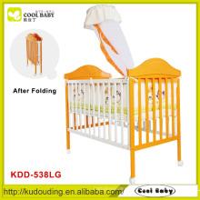 Bebê quente do bebê da venda, cama dobrável do berço do bebê