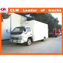 Faw 6 Wheeler Cargo Van Truck