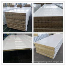 Water Hated, Fireproof Materials Rockwool Wall and Roof Panel