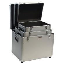 Caixa de alumínio para o armazenamento de ferramentas
