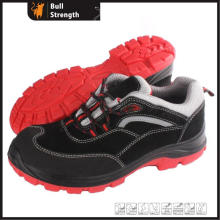 PU/TPU Mixture Outsole Suede Leather Low Cut Safety Shoe (SN5432)