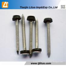 Galvanisierte ringförmige Ring-Schaft- oder Torsionskopf-Spulen-Nägel