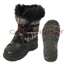 Mode abnehmbare Filz TPR Kinder Schneeschuhe (SB002)