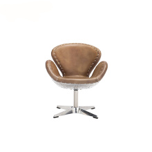 Vintage Industri Spitfire Kulit Greenwich Chair