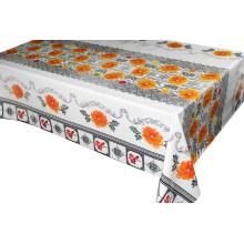 Silver Gold Laser Transfer Printing Tablecloth