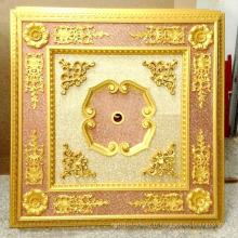 Plafonnier artistique suspendu à l'art décoratif doré Dl-1182-4