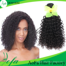 Wholesale Hot Style Curly Hair Weave Brazilian Virgin Human Hair