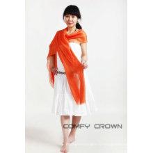 Супер длинный Специальный двойной C зерно Разработанная бархатная шаль