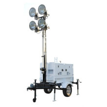 High Mast Lighting Tower Generator Set