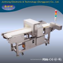 food /rubber/ plastic industry Waterproof conveyor metal detector
