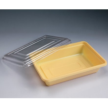 Boîte à lunch à emporter en plastique jetable