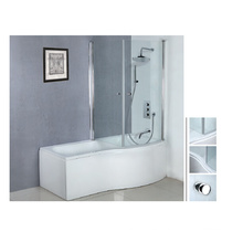 2014 Bañera de ducha de acrílico de la venta caliente