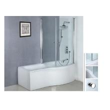 2014 Hot sale acrylic corner shower bathtub