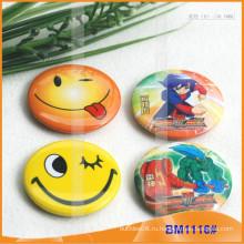 Набор значка для кнопки, круглый металлический значок BM1116