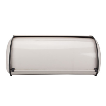 Roll Top Acentos de crema Roll Top Pan Bin