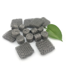 Pressed stainless steel Knitted wire mesh selas for airbag inflator filter gas generators mesh strainer