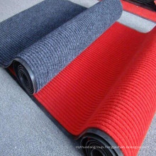 Double Stripe Carpet Mat with PVC Backing