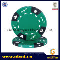 14G 3-Tone Ace-King Suited Clay Poker Chip (SY-E07)