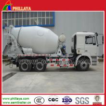 Caminhão de reboque do petroleiro do misturador concreto de 14cbm / 15cbm / 16 Cbm semi
