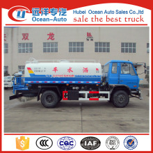 2015 dongfeng 4 * 2 caminhão tanque de água com caminhão de água para menor preço