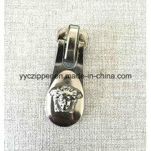 Tamaño grande de alta calidad personalizar Slider para Metal Zipper