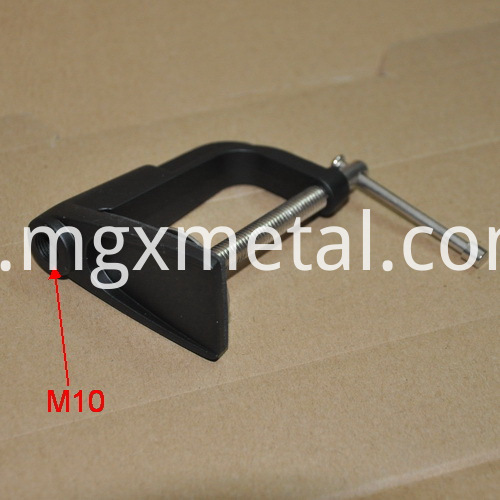 aluminum tablet clamp
