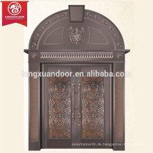 Kommerzielle oder Wohn-Bronze-Tür, gewölbte Top Antike Kupfer-Tür