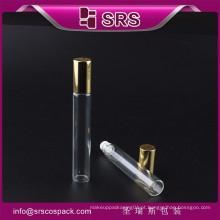 Impressão de tela por atacado rolo de vidro vazio no frasco, rolo no frasco de vidro para o cuidado pensonal