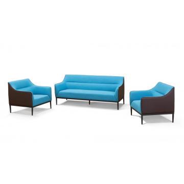 Chaise de loisirs de bureau canapé et bureau moderne