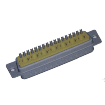 Coaxial D-SUB 24W7 Male Solder Cup